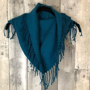 New York & Co Infinity Scarf with Fringe NWT 147